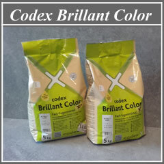 Zementärer Fugenmörtel Codex Brillant Color, Gebindeinhalt 5 KG